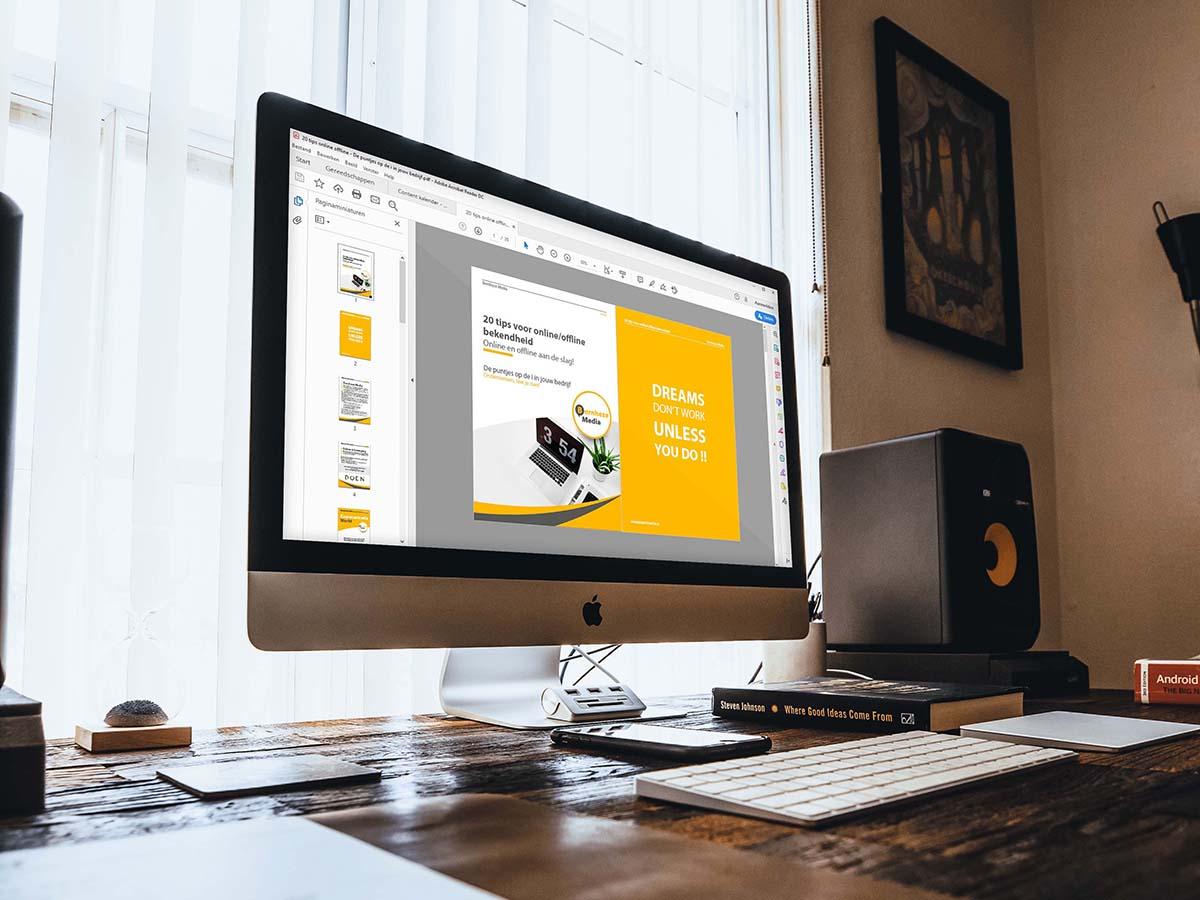 E-book 20 tips voor online offline herkenbaarheid