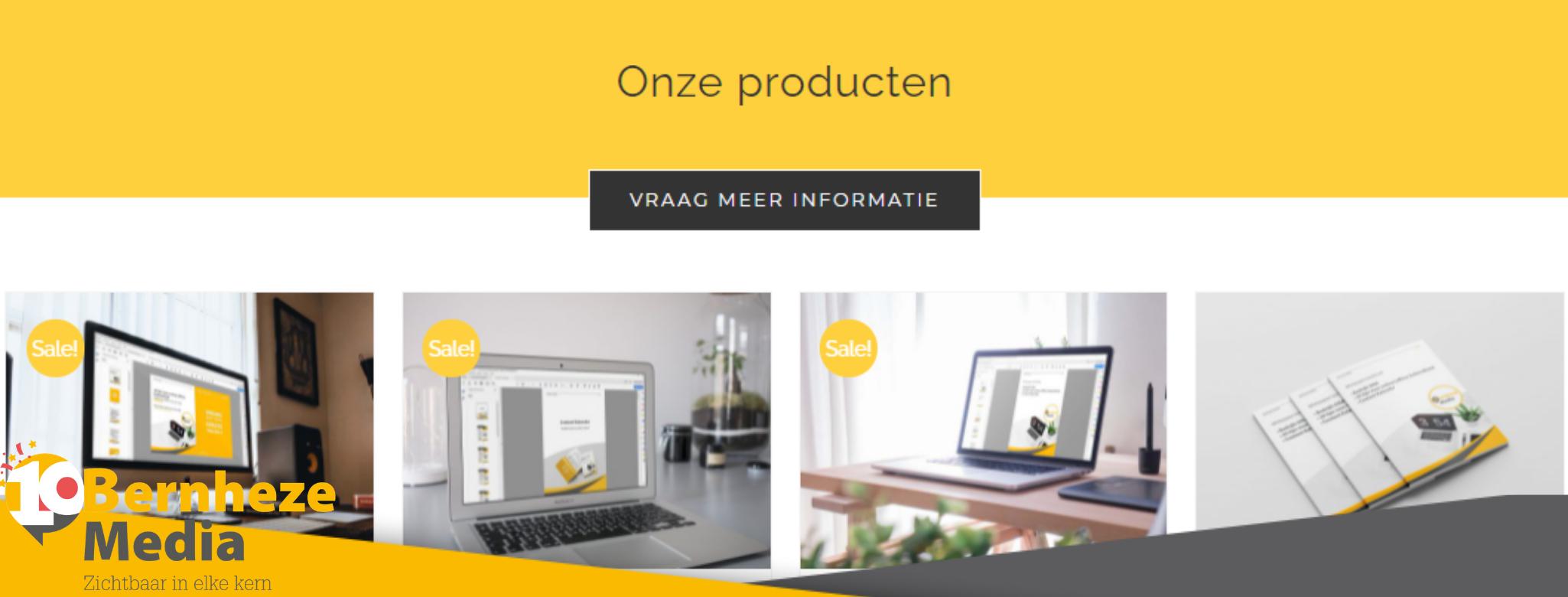 Diensten - Online producten